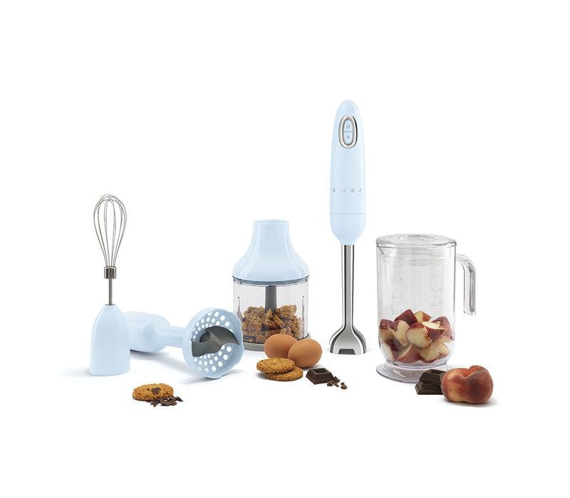 Mixeur plongeant + accessoires Bleu HBF02CREU - SMEG