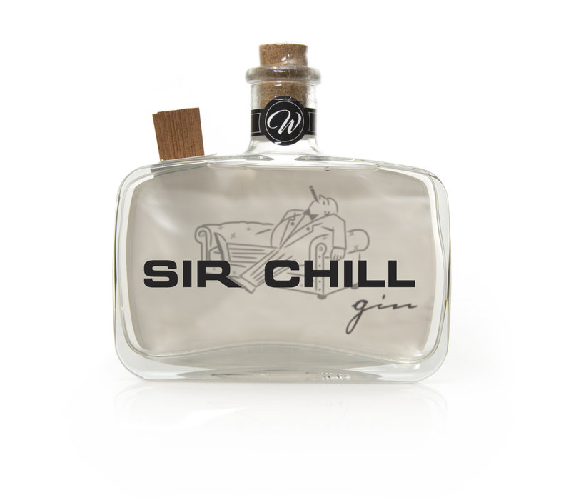 Sir Chill Gin + glass & 2 tonics Gift Pack