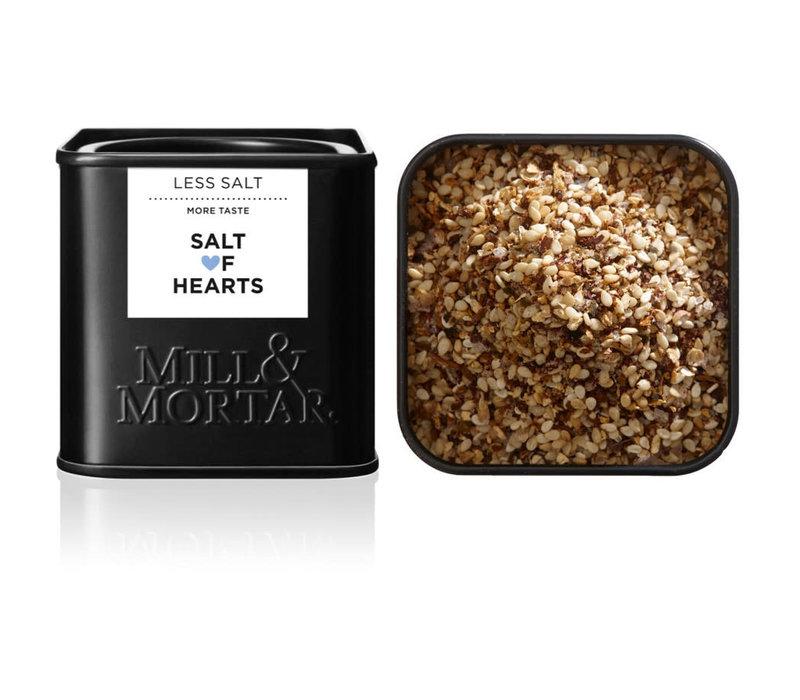 Salt of Hearts - Moins de sel, plus de saveur - Mill & Mortar
