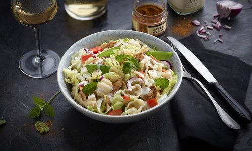 Pita pasta salade recept