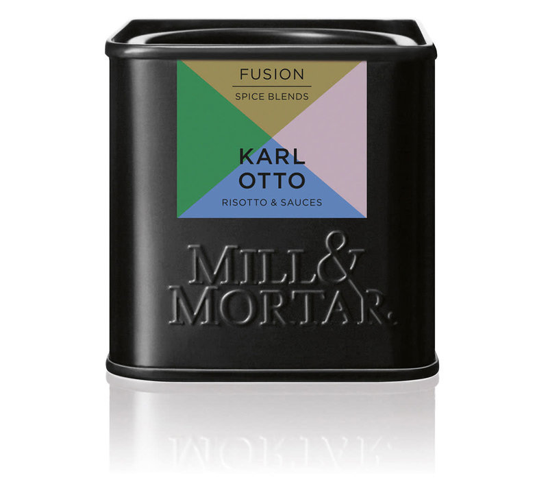 Karl Otto - kruiden voor Risotto & Sauces - Mill & Mortar