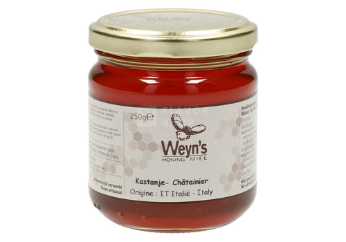 Weyn's Honing Miel de Châtaignier 250 g