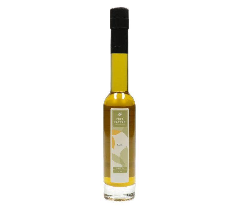 Huile d'olive extra vierge au basilic - Pure Flavor