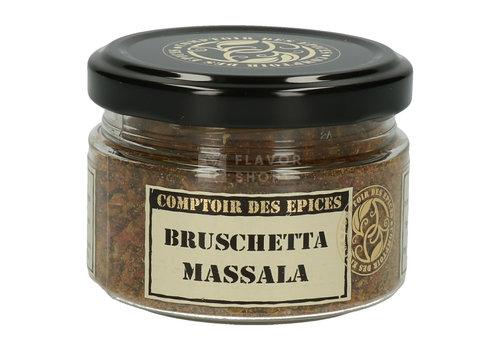 Le Comptoir des épices Bruschetta Massala