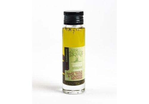 Côté Garrigue Huile d'olive au Thym et tomates sechées 10cl