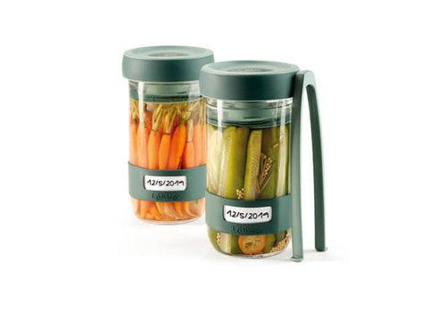 Lékué Set à fermenter - avec 2 pots de 700 ml
