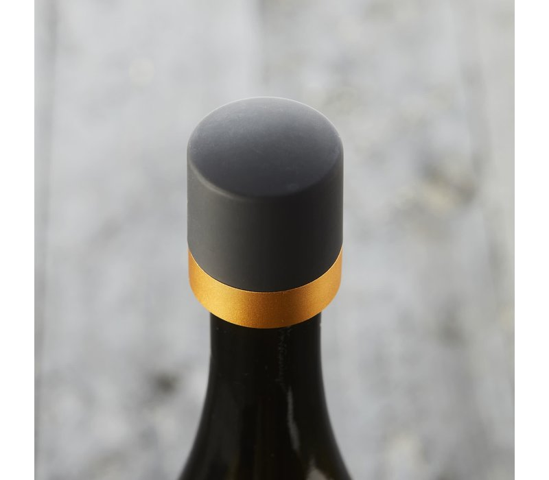 Champagne Stopper in kunststof Goud - Point Virgule