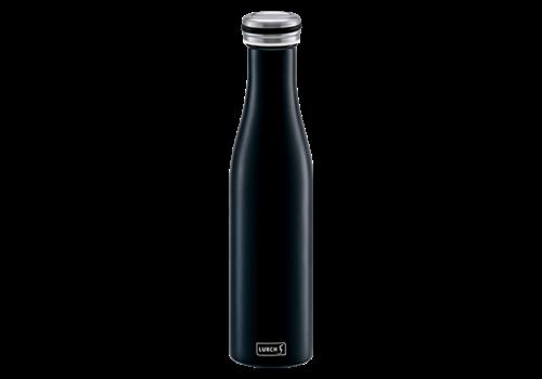 Lurch Bouteille isolante à double paroi Noir Mat - 750 ml