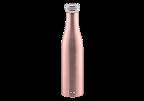 Lurch Dubbelwandige isoleerfles roze - 750 ml