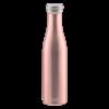 Lurch Bouteille isotherme à double paroi Rose Doré 750 ml - Lurch