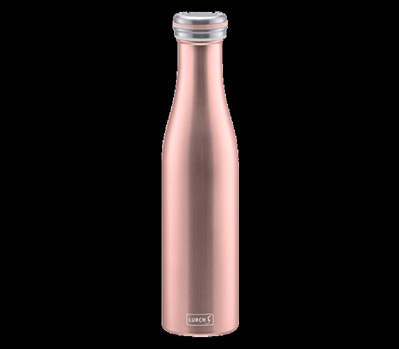 Bouteille isotherme à double paroi Rose Doré 750 ml - Lurch