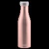 Lurch Bouteille isotherme à double paroi Rose Doré 500 ml - Lurch