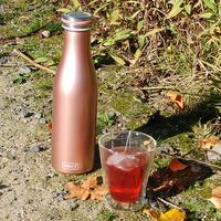 Bouteille isotherme à double paroi Rose Doré 500 ml - Lurch