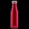 Lurch Bouteille isotherme à double paroi Bordeaux 500 ml - Lurch