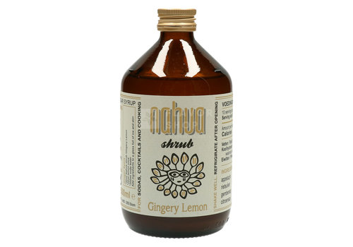 Nahua Shrub au Gingembre & Citron 50 cl