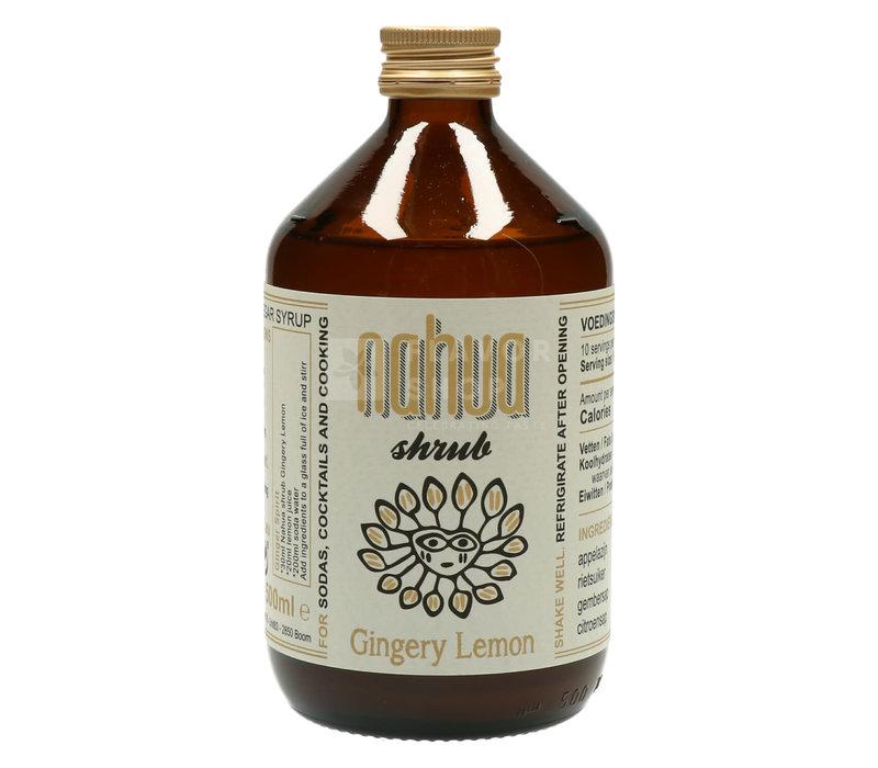 Gingery Lemon Shrub - Nahua