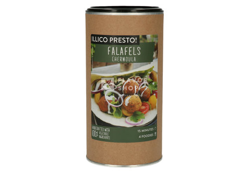 Illico Presto Falafel Kit met Chermoula kruiden