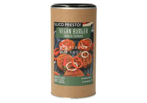 Illico Presto Vegan Burger met gerookte paprika