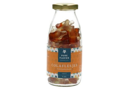 Pure Flavor Colaflesjes - in flesje