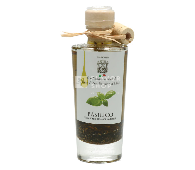 Olijfolie met basilicum 100 ml