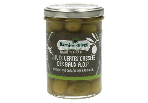 Barnier Olives Olives vertes Cassées des Baux de Provence AOP