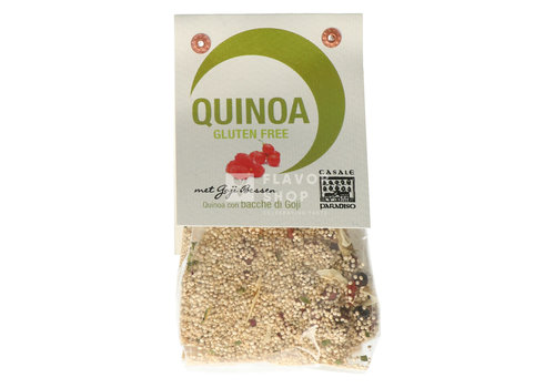 Quinoa met Gojibessen