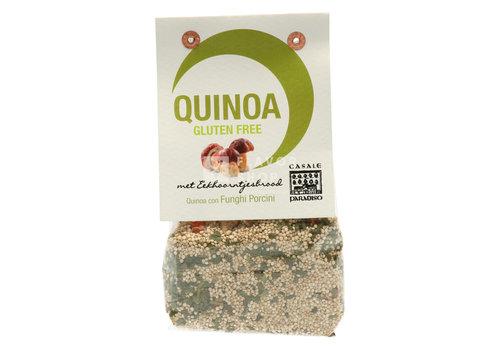 Quinoa aux cèpes