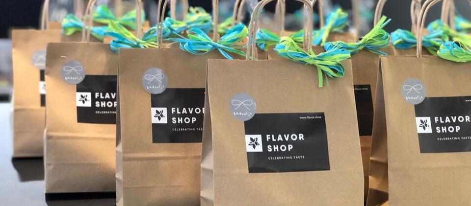 Cadeaux d'affaires Flavor Shop