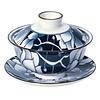 Gaiwan en porcelaine 0,1 L - Xiandai