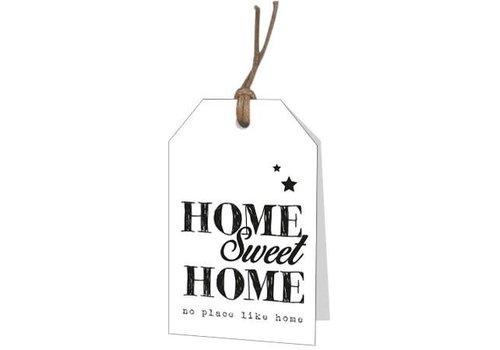 """Home Sweet Home"" wenskaartje"