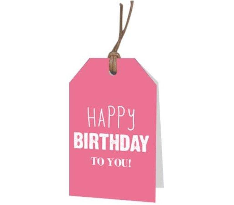 Joyeux anniversaire à vous carte de voeux