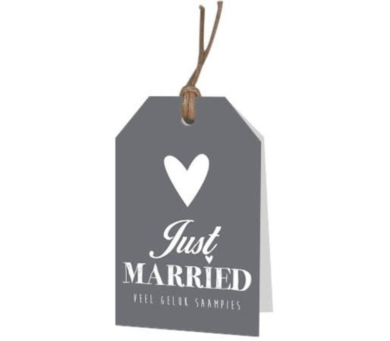 Just Married Carte de voeux