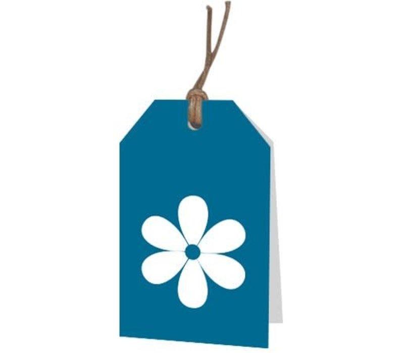 carte de voeux de fleur