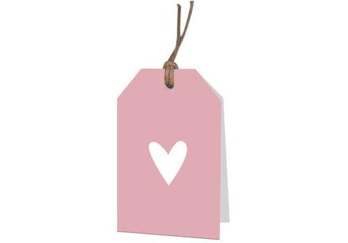 Petit coeur carte de voeux