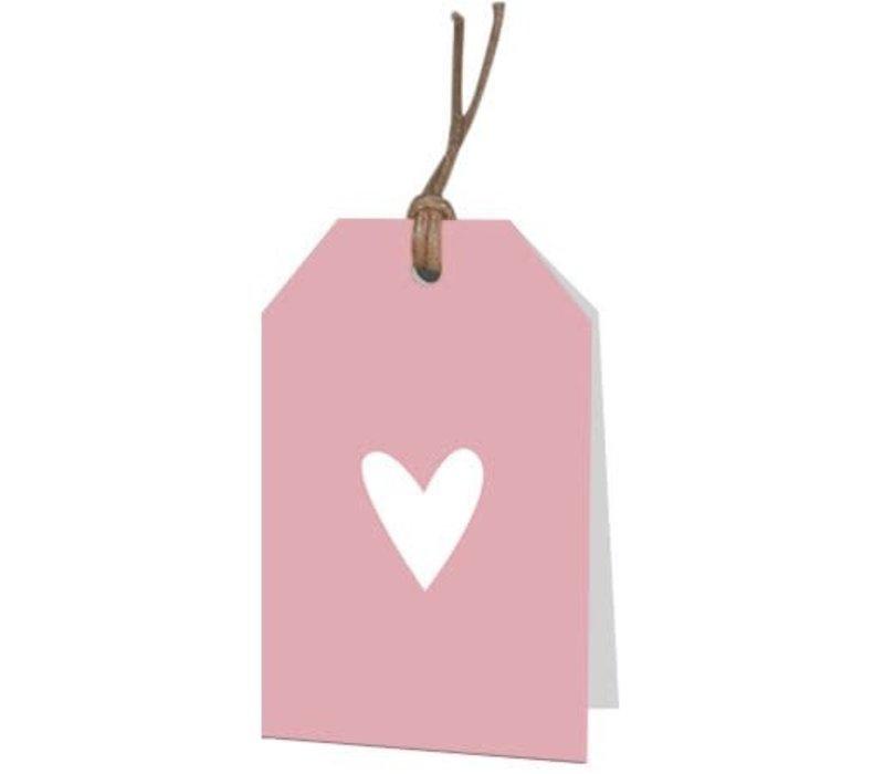Carte de voeux de coeur