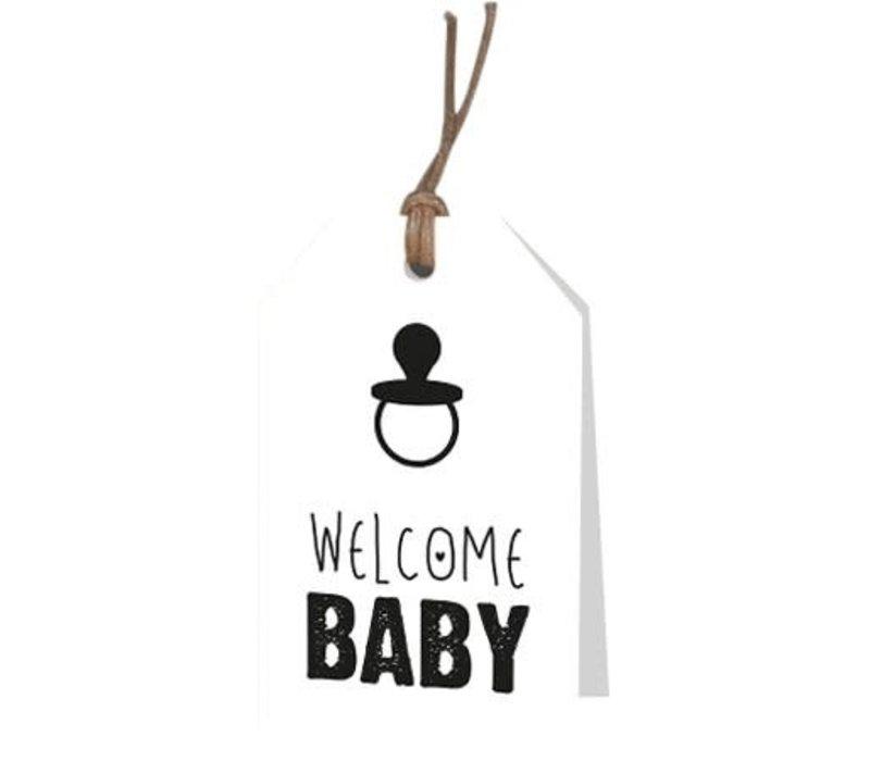 Welcome Baby Wenskaartje