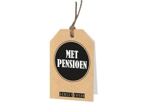 Met Pensioen Wenskaartje