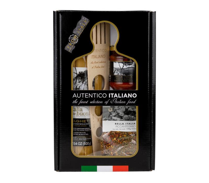 Giftbox: Spaghetti No 3 (kruiden en saus)