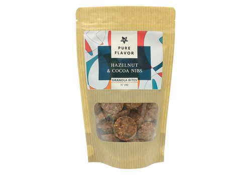 Pure Flavor Biscuits Granola Noisettes & Cacao 150g