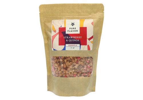 Pure Flavor Granola Fraises et Quinoa 300g