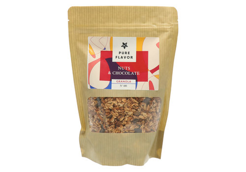 Pure Flavor Granola Nuts & Chocolate 300g
