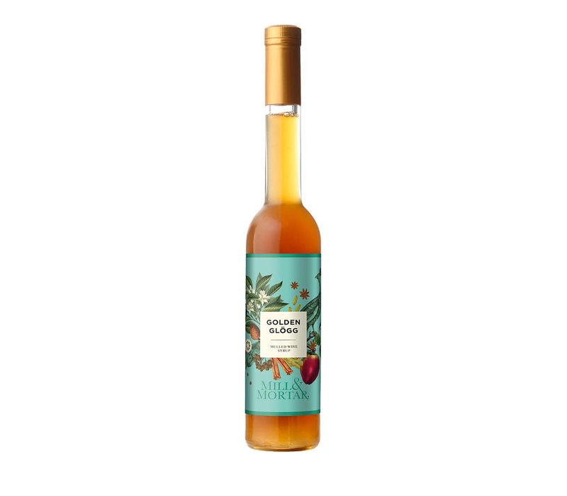 Glühwein Siroop  Golden Gløgg - voor witte wijn