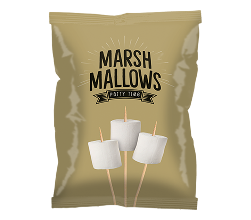 Marshmallows 150 g - Goud