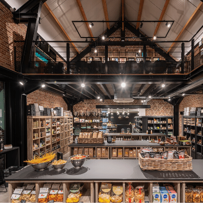 Interieur Flavor Shop Celebrating Taste