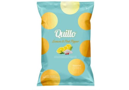 Quillo Chips Lemon & Pink Pepper 45 g
