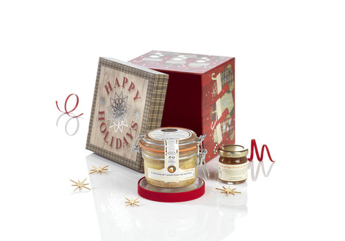 Valette Geschenkdoos Le Merveilleux (foie gras & vijgen)