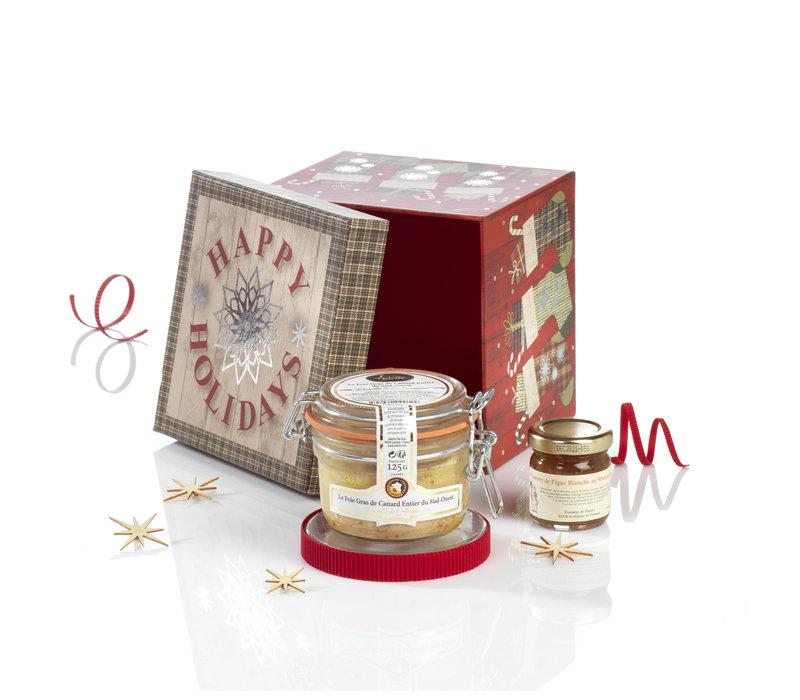 Geschenkdoos Le Merveilleux (foie gras & vijgen)