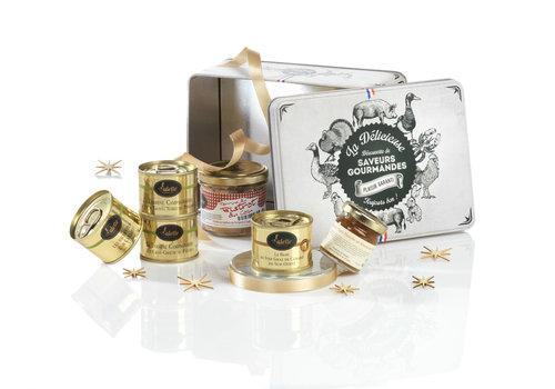 Valette Geschenkdoos 'Les Petits Plaisirs' (foie gras, rillettes & terrine)