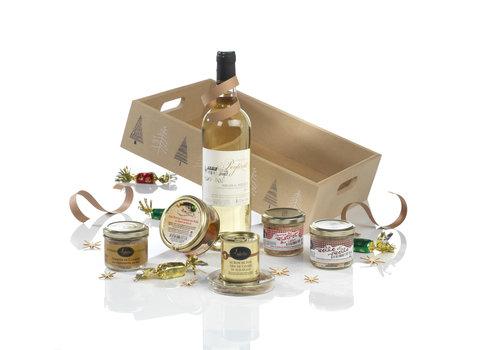 Valette Krat Hymne des Gourmets (wijn, terrines & foie gras) - Valette