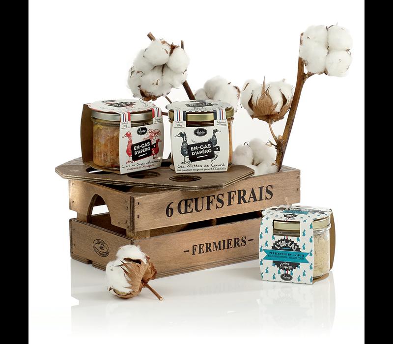 Boîte Cadeau 'Brunch à la ferme'  -Valette